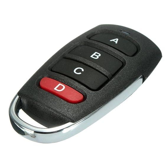 Audew Mando de garaje remote 433Mhz puerta cochera control: Amazon.es: Coche y moto