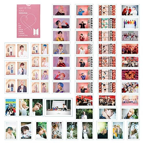 BTS LOMO Cards BANTAN Boys Merchandise of Postcards MAP OF THE SOUL PERSONA Gifts for Army Daughter (PERSONA)
