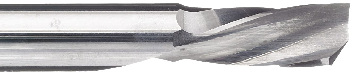 0.1875 Shank Diameter 0.1875 Cutting Diameter LMT Onsrud 64-016  Solid Carbide Downcut Spiral O Flute Cutting Tool 21 Degree Helix Uncoated 2.0000 Overall Length 1 Flute Bright Inch Finish
