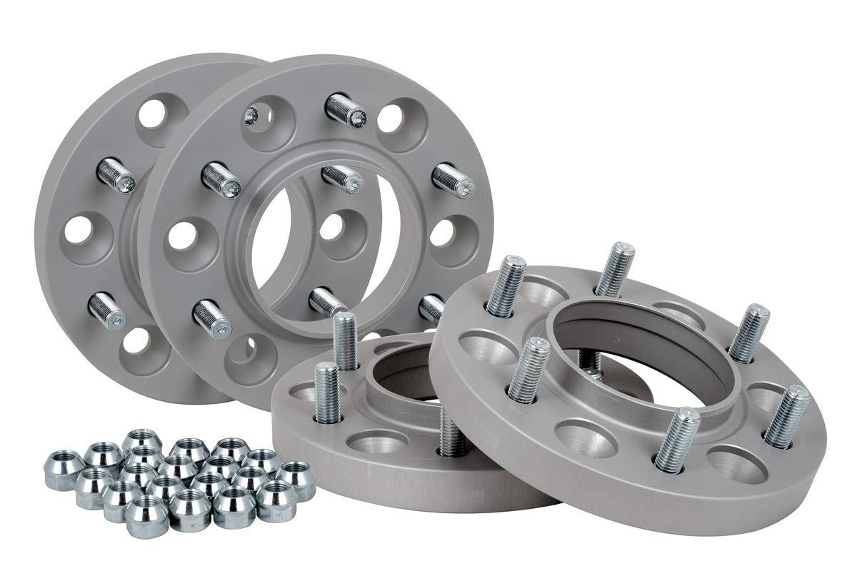 inkl Spurverbreiterung Aluminium 4 St/ück T/ÜV-Teilegutachten 21 mm pro Scheibe // 42 mm pro Achse