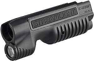 Streamlight 69601 TL-Racker Forend Light with CR123A Lithium Batteries - 850 Lumens - Remington 870, Black