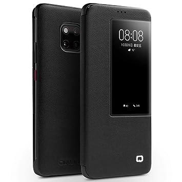 Zeattain Funda de Cuero Huawei Mate 20 Pro, Cuero Novedoso Ventana ...