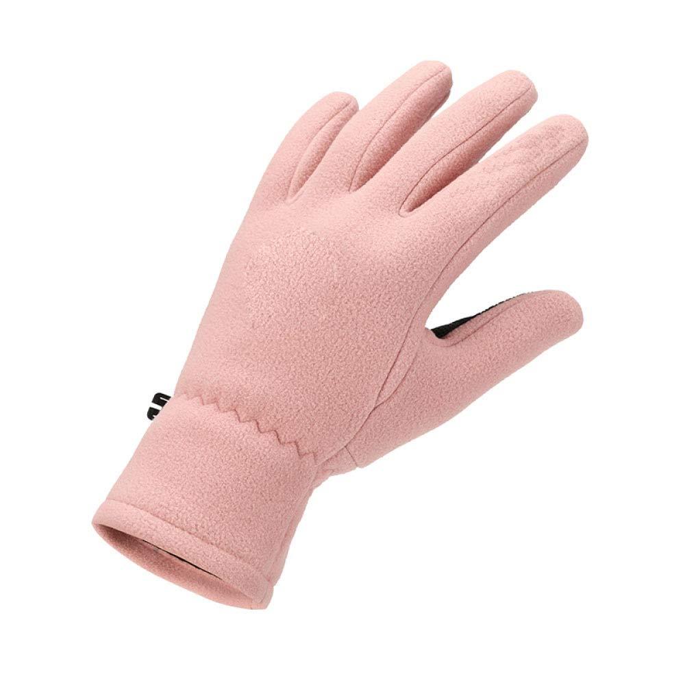 WuJiPeng Fleecehandschuhe Für Den Außenbereich Wintersporthandschuhe Für Männer Und Frauen, Fingerhandschuhe