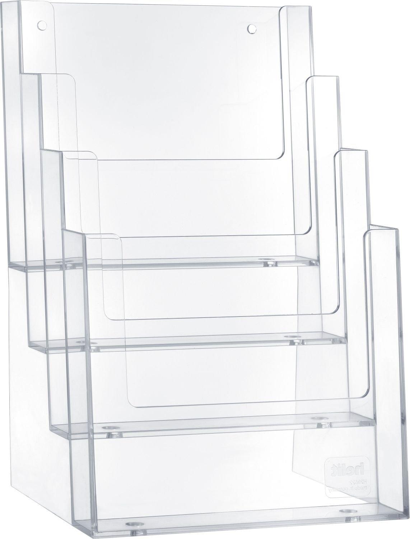 helit porte-brochure de table, A5 portrait, 4 compartiments H2352202