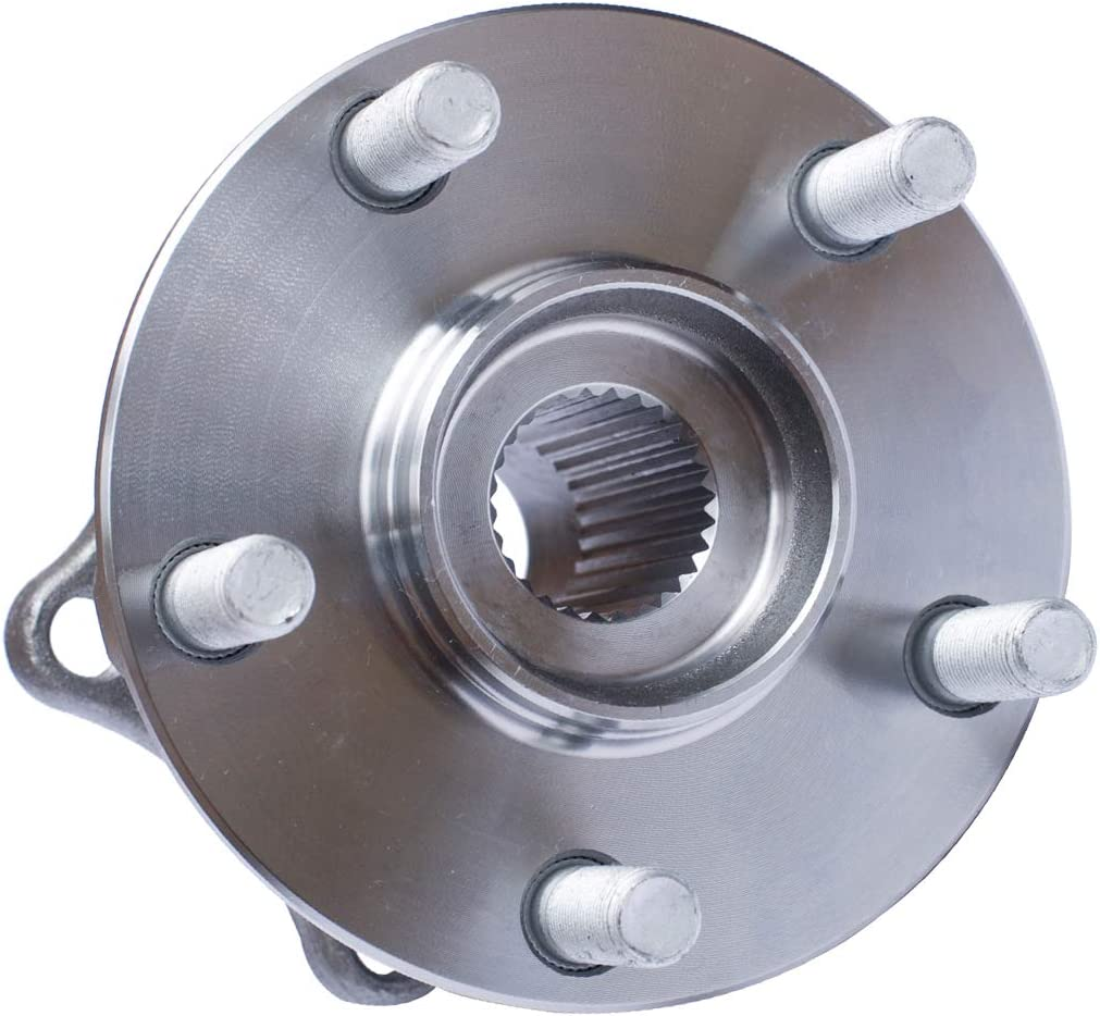 5 Lug Hub Rear Wheel Hub and Bearing Assembly Compatible With Scion FR-S Subaru BRZ Forester Legacy Outback Impreza AUQDD 512401