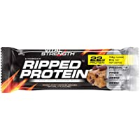 Vitalstrength Hydroxy Ripped Dough Protein Bars, Choc Chip Cookie, 60g x 16