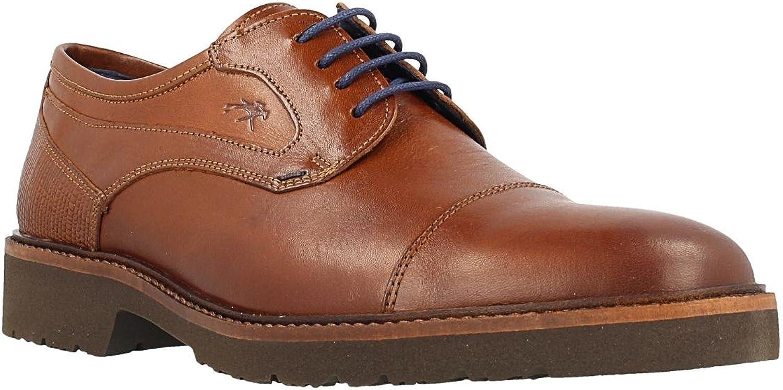 Zapato FLUCHOS 9527 BREZZA Placa Camel.