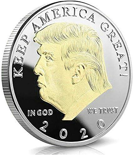 Coin DONALD TRUMP Keep America Great 2020 Genuine JFK Kennedy Half Dollar U.S