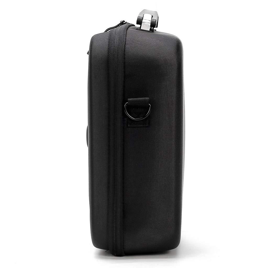Tuu Waterproof Portable Storage Bag Carry Case for DJI Mavic 2 & Smart Controller (Black) by Tuu (Image #3)