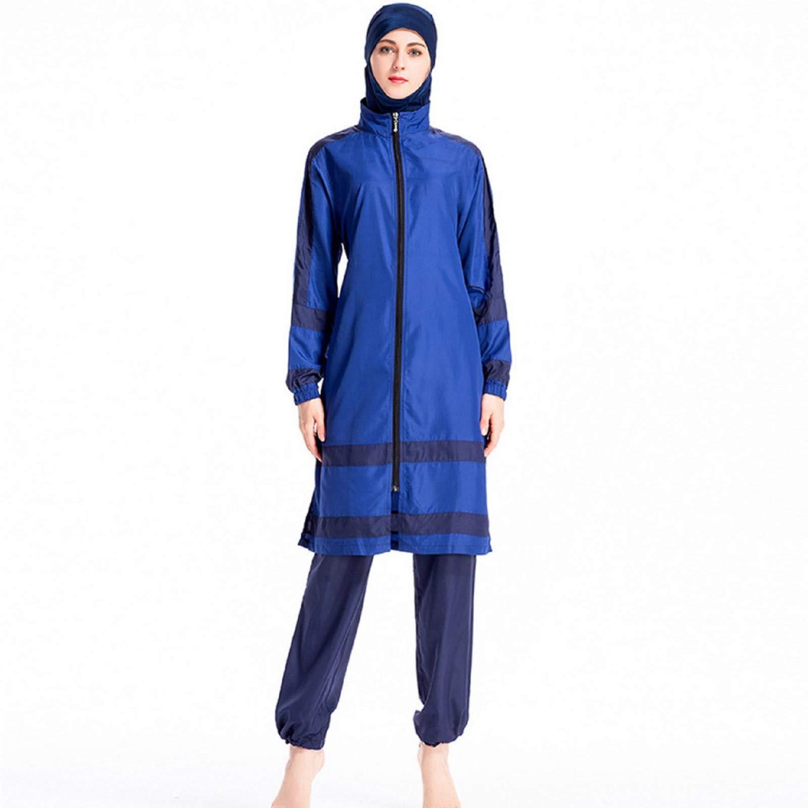Muslim Swimwear for Women,Women Muslim Bathing Suit + Cap + Pants by GUTTEAR