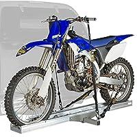 Soporte para motocicleta de aluminio montado enganche AMC-400 de Black Widow - Capacidad de 400 lb.