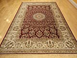 New Silk Red Traditional Area Rug Traditional Rugs
