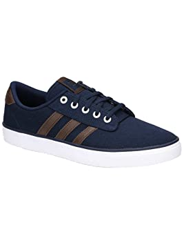 huge discount bbc30 21732 adidas Chaussures de Skateboard Kiel pour Homme, Collegiate Navy Brown FTW,  46.5