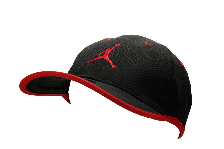 e53909a3cf5d ... clearance nike mens jordan jumpman drifit cap hat black red amazon  sports outdoors c2123 05edd