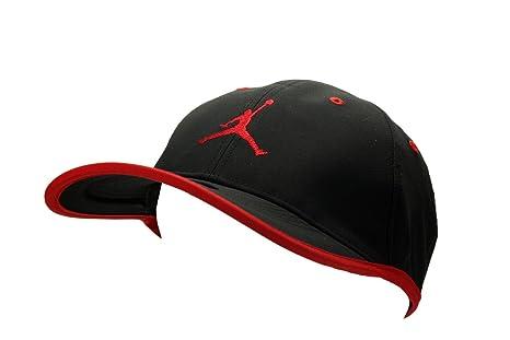 994a9f5b09f5c9 ... cheapest nike mens jordan jumpman drifit cap hat black red 363ff 60050