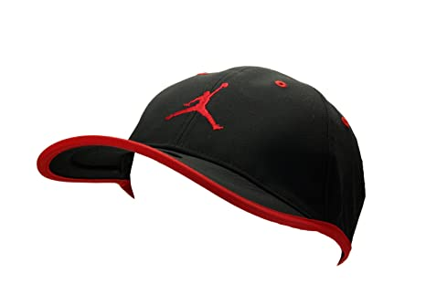 ... cheapest nike mens jordan jumpman drifit cap hat black red 363ff 60050 47bc08007bed