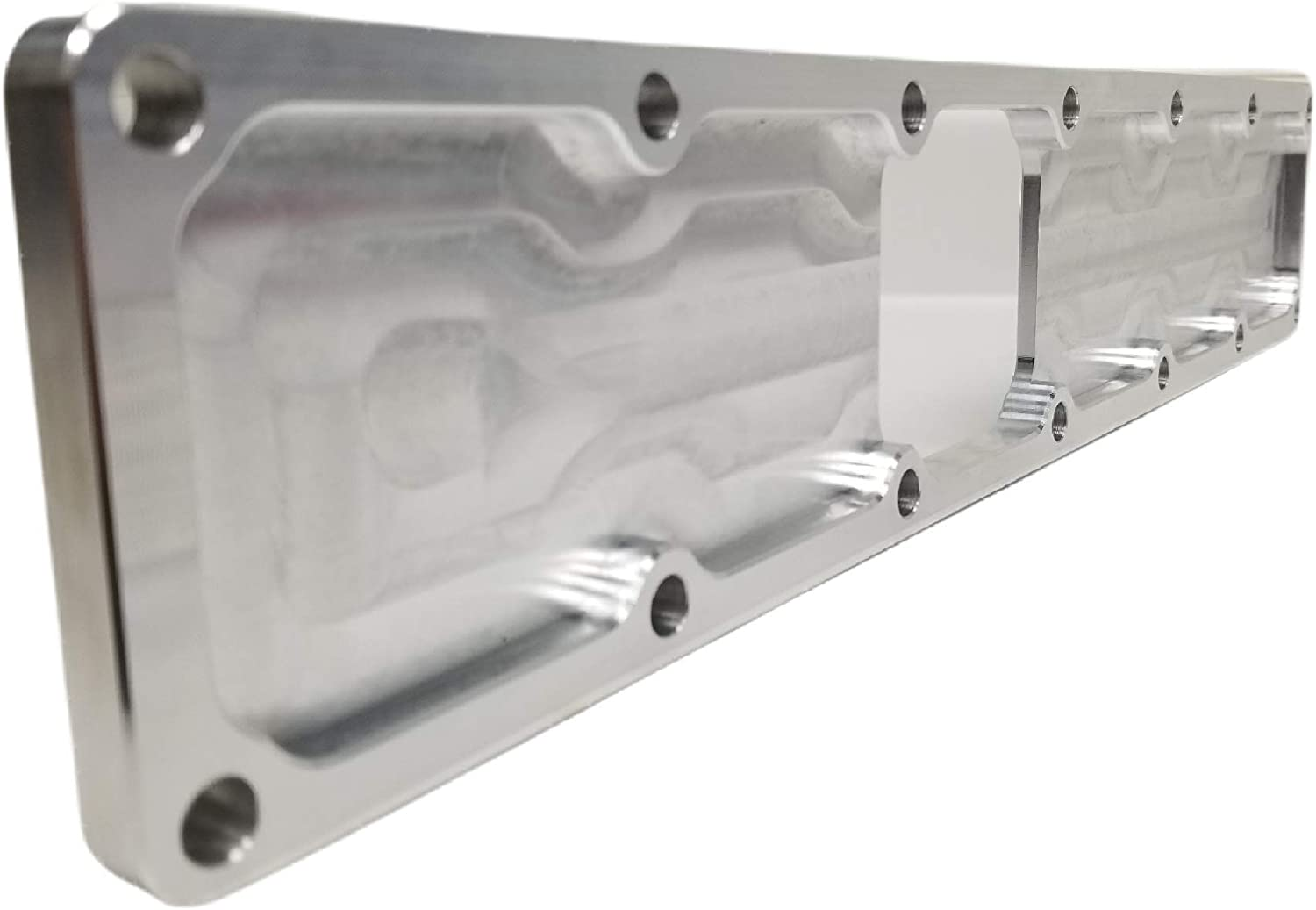Z Whip Billet Aluminum Intake Manifold Plenum Plate Compatible With Dodge Ram Cummins 5.9L 12 Valve 6BT engines Proudly Made In The USA