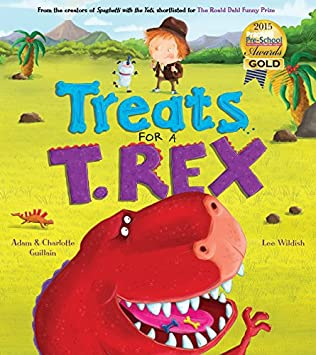 book cover of Treats for a T. Rex