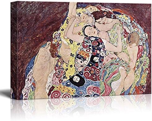 The Virgin by Gustav Klimt