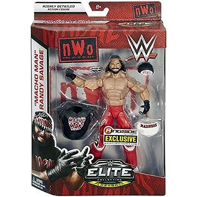Ringside NWO Wolfpac Macho Man Randy Savage - WWE Elite Exclusive Mattel Toy Wrestling Action Figure: Toys & Games