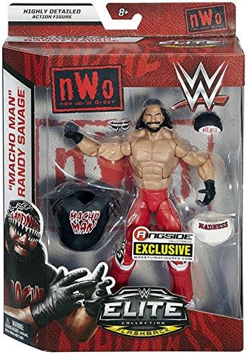 Ringside NWO Wolfpac Macho Man Randy Savage - WWE Elite Exclusive Mattel Toy Wrestling Action Figure by Ringside