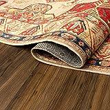 My Magic Carpet Machine Washable Runner Rug Ottoman