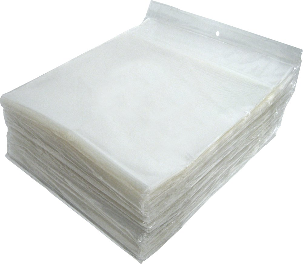(1000) 12'' Slim Record Outersleeves - Super Polyclear- Resealable - 2 Mil Thick - #12SB02RSIM-SLIM