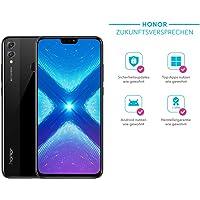 Honor 8X Smartphone BUNDLE (16,5 cm (6,5 Zoll), Dual-Kamera, Dual-SIM, Android 8.1) + gratis Honor Flip Protective Cover [Exklusiv bei Amazon] - Deutsche Version