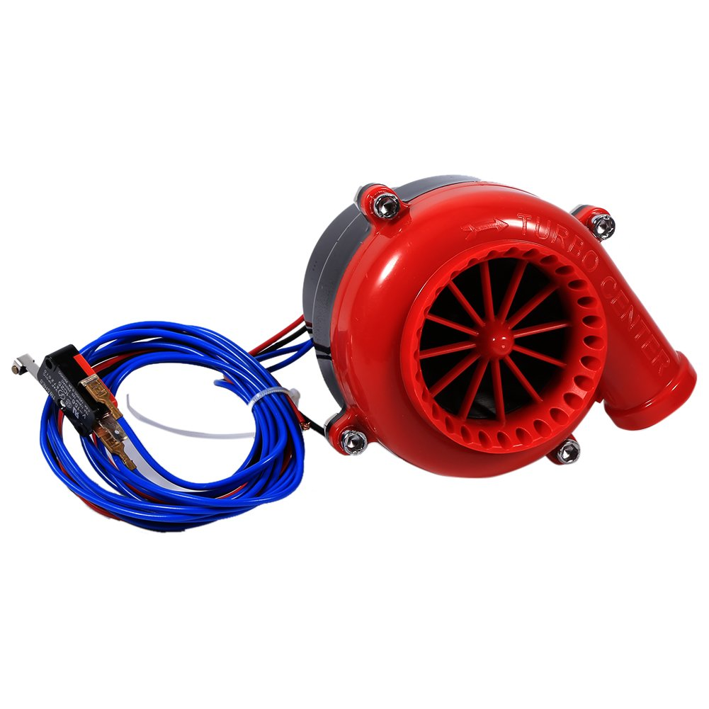 Qiilu Auto Elektronische Gef/älschte Dump Turbo Wegblasen Hooter Ventil Analog Sound BOV Simulator Kit