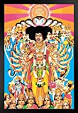 Pyramid America Jimi Hendrix Axis Bold as Love Music Framed Poster 14x20 inch