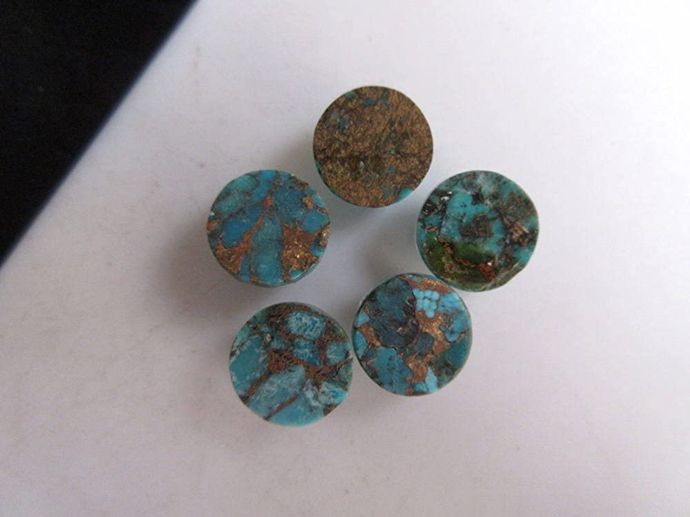 Multi Copper Turquoise Cushion Shape 44 X 20 X 5 mm Loose Gemstone  LS11012 32.30 Cts