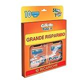 Gillette Fusion Maxi Formato 10 Ricariche