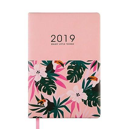 YWHY Cuaderno Agenda 2019 Agenda De Planificador A5 ...