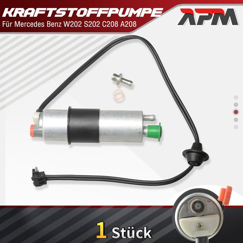 Kraftstoffpumpe Benzinpumpe fü r C-Klasse CLK W202 S202 C208 A208 ab Bj. 1993/03-2002/06 APM Autoteile