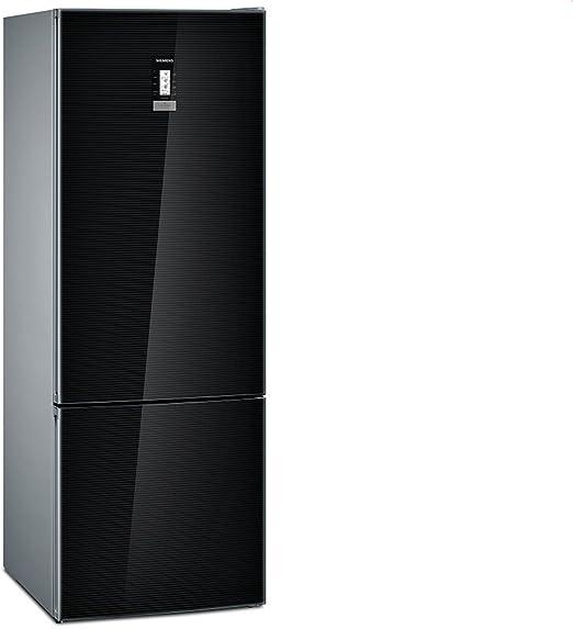 Siemens iQ700 KG56FSB40 nevera y congelador Independiente Negro ...