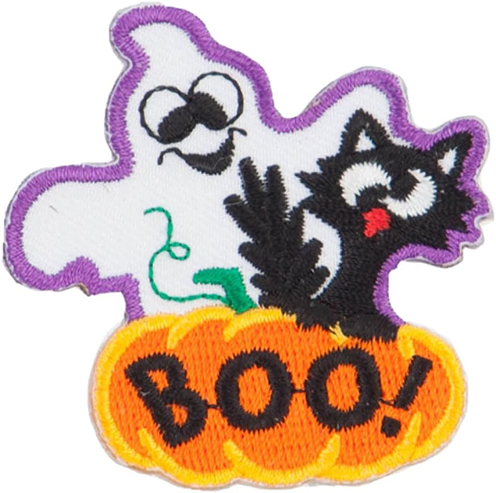 Halloween Haunted Ghost Patches