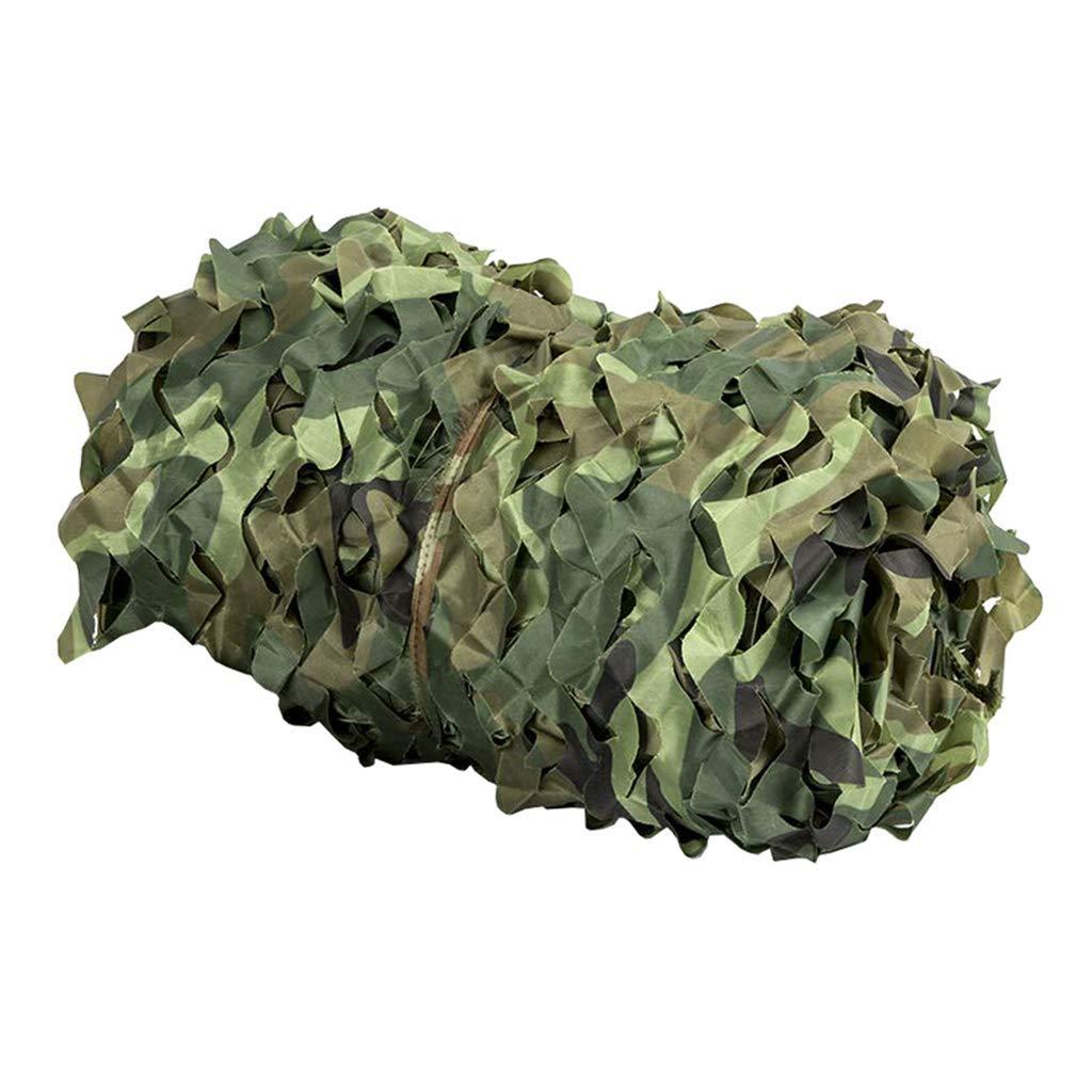 56m F-S-B FiletFiletage de Camouflage, désert de la forêt Camouflage crypté épaissi Pare-Soleil Filet Oxford Polyester pour Le Camping à thème décoration de fête,4  6m