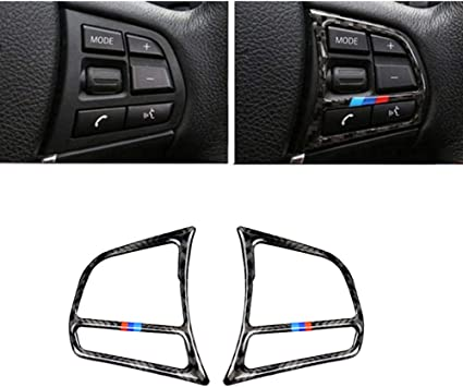 Car Steering Wheel Buttons Decorative Stickers For BMW 3//4 series F30 F32 F34
