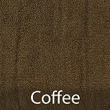 BambooMN Brand Super Soft 70% Rayon from Bamboo 30% Organic Cotton Bath Sheet, 535 GSM - 1pc - Coffee