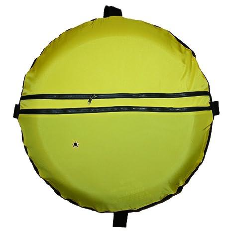 JCS amarillo Cordura buceo flotador, con malla inferior