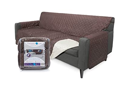 Fantastic Ture Furniture Protector Cover For Couch Or Sofa: Reversible,  Water Resistant Quilted
