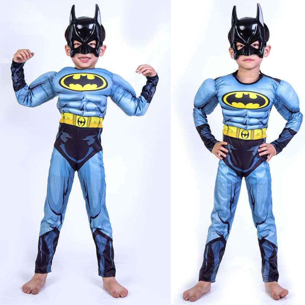 YIWANGO Adulto del Niño Batman Cosplay Halloween Bola De Disfraces ...