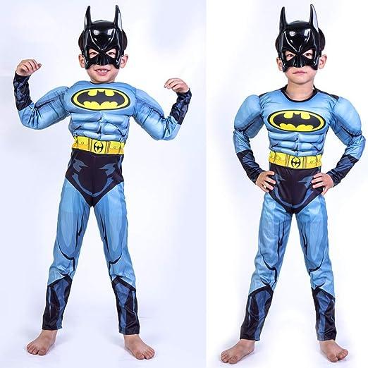 YIWANGO Adulto del Niño Batman Cosplay Halloween Bola De ...