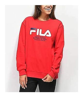 e7ab6b0013c2 Fila Women's Lidia Sweatshirt at Amazon Women's Clothing store: