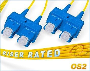 OS2 SC 9 125 Singlemode Duplex Fiber Cable