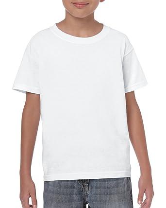1694e8dca White Boys Girls Childrens Kids Unisex Plain T-Shirt Tee Shirt 100% Cotton  School P.e. Ages 1 2 3 4 5 6 7 8 9 10 11 12 13 14 15 (Bulk Orders Welcome)   ...