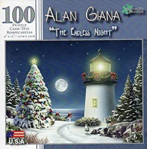 The Endless Night 100 Piece Puzzle - Alan Giana by L & L Corp