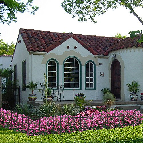 Amagabeli Decorative Garden Fence 18 In X 50 Ft Rustproof