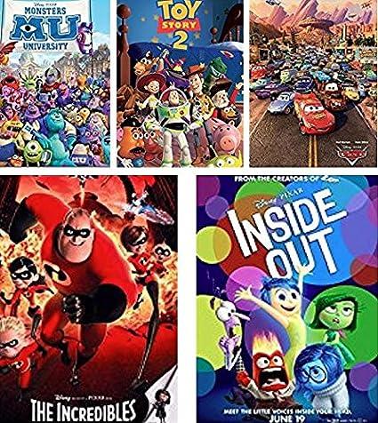 amazon com ceaco disney pixar 5 in 1 multipack puzzles includes 2