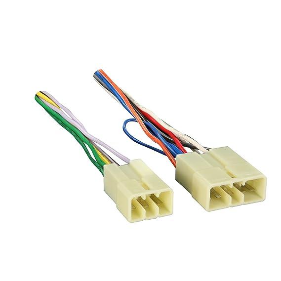 amazon com metra 70 1398 wiring harness for select 1982 1992 toyota rh amazon com